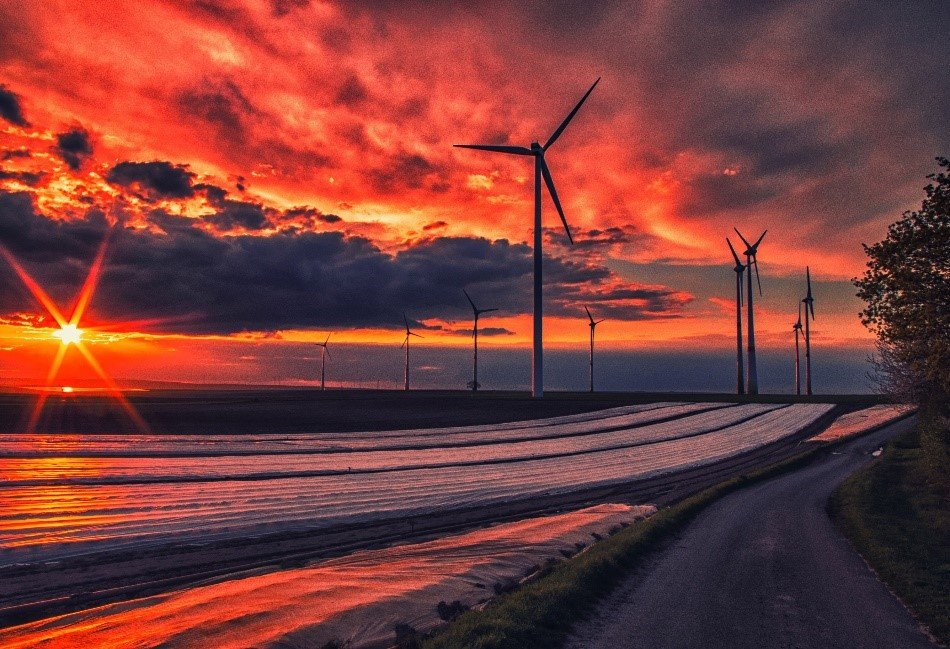 Wind is one of many forms of clean energy