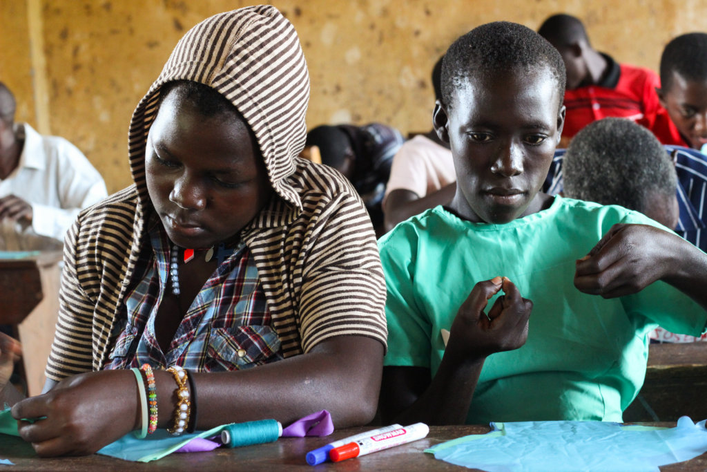Girls can now sew their own sanitary pads