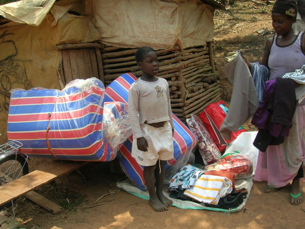 Sponsored children receive basic care