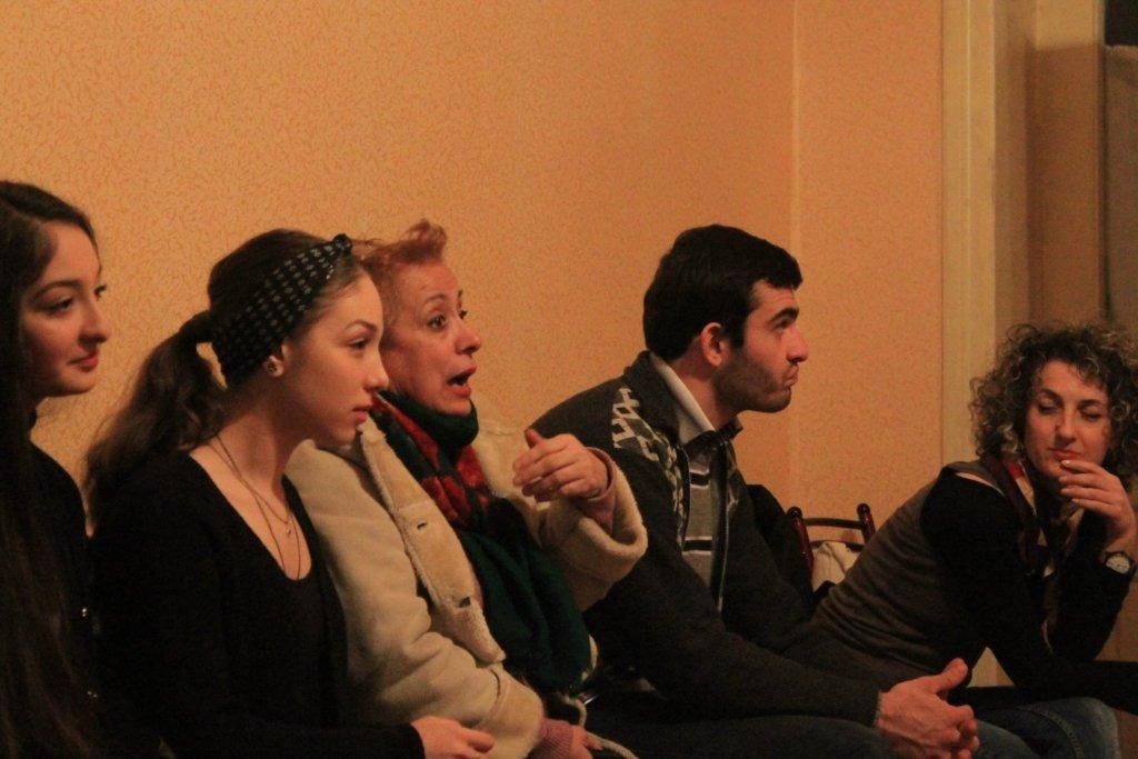 Discussion in Kutaisi, Imereti, November 30 2015