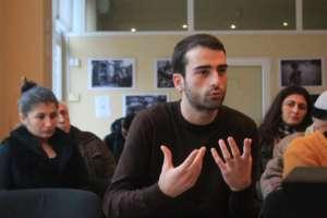 Discussion in Ozurgeti, Guria, 1st December 2015