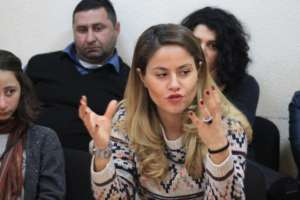 Radarami Book Discussion in Telavi, East Georgia