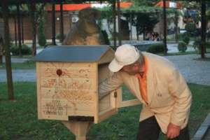 Radarami Free Library box in Telavi