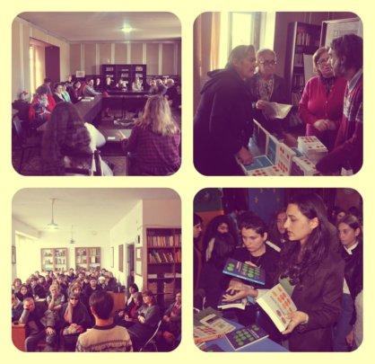Radarami on Book tour, Telavi Central Library