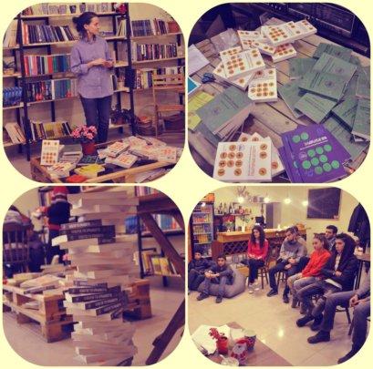 Meeting in Knowledge Cafe in Tsnori, East Georgia
