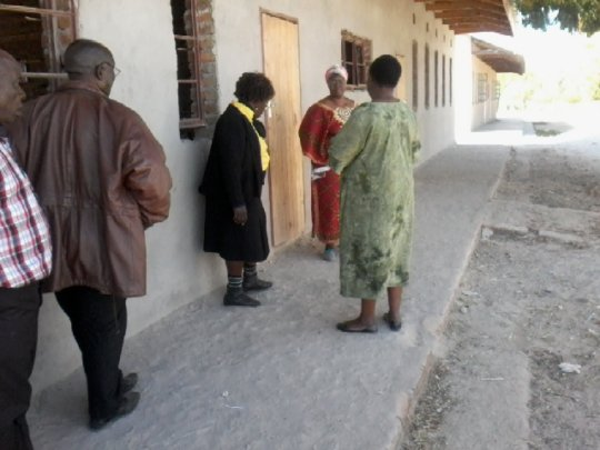 RMT Board interacting with Magaya School Head