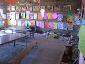 Classroom in Use before Completion