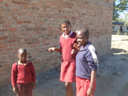 Magaya Primary School Learners