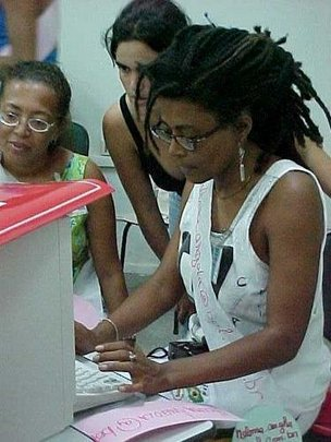 Technology Training for Women Radio Communicators