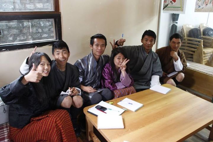 Y Co-OP members in discuss cooperatives in Bhutan