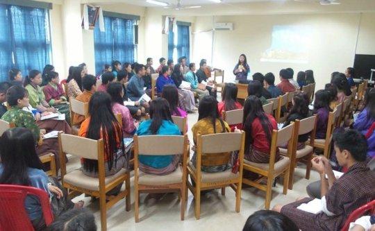 Social media conversation at Samtse College
