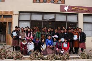 Visit to Voluntary Artist Studio (VAST), Thimphu.