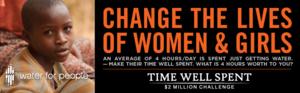 Change the lives of women & girls...
