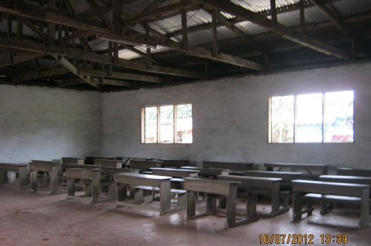 Bonduma Community Hall interior
