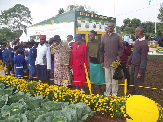 Parents taken to Agricultural Show to Learn