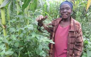 A Grandmother Supported to Grow food