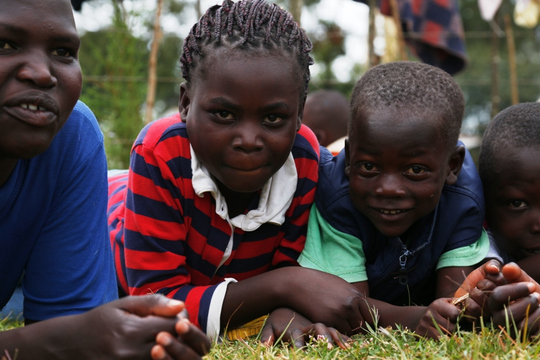 Reintegrate street Connected children in Kitale