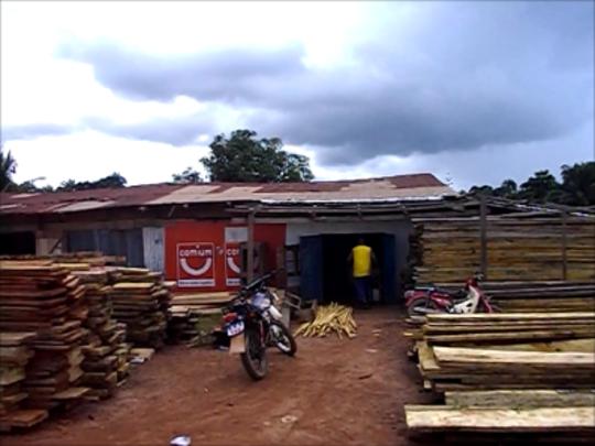 Fofana's woodshop