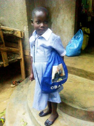 Editha's First Day of School