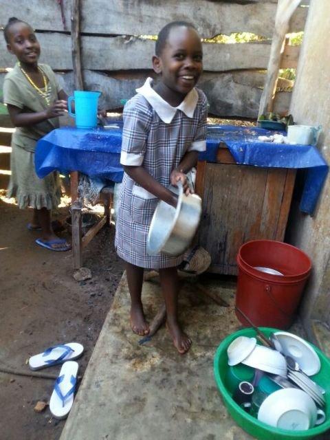 susan dishwashing