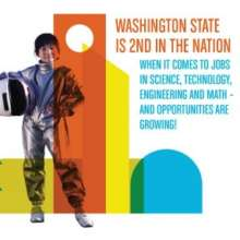 Washington is 2nd for STEM opportunities