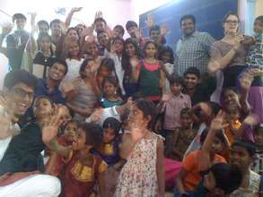 Children on Diwali  with IBS-Hyderabad Students