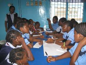 During a Peer Education Training