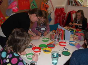 Our Art Therapy Room