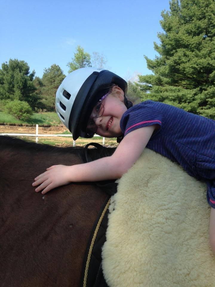 Loving the horse!