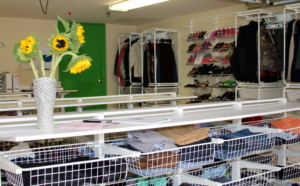 Hope's Closet, filled with supplies for youth.