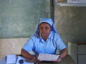 Sister Santia, school principal