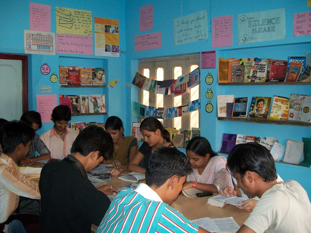 iLEAD Youth learning at a rural library