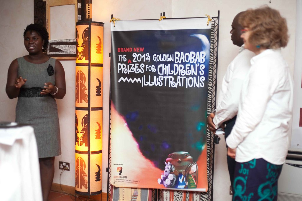 The unveiling of the 2013 prizes poster