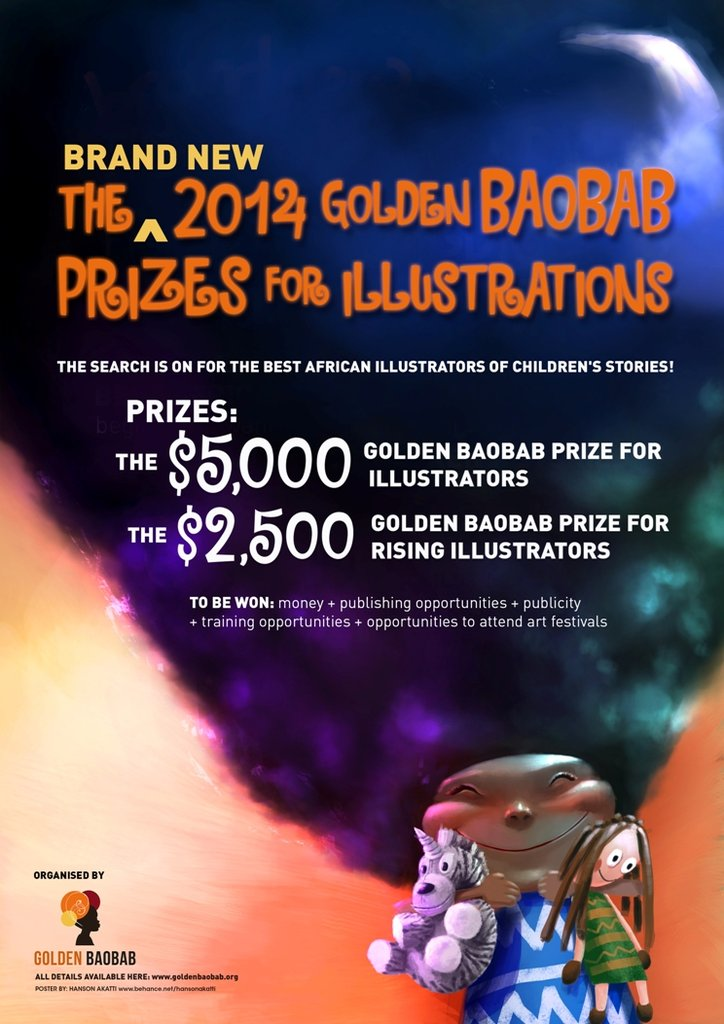 The 2014 Poster for the new illustration prizes