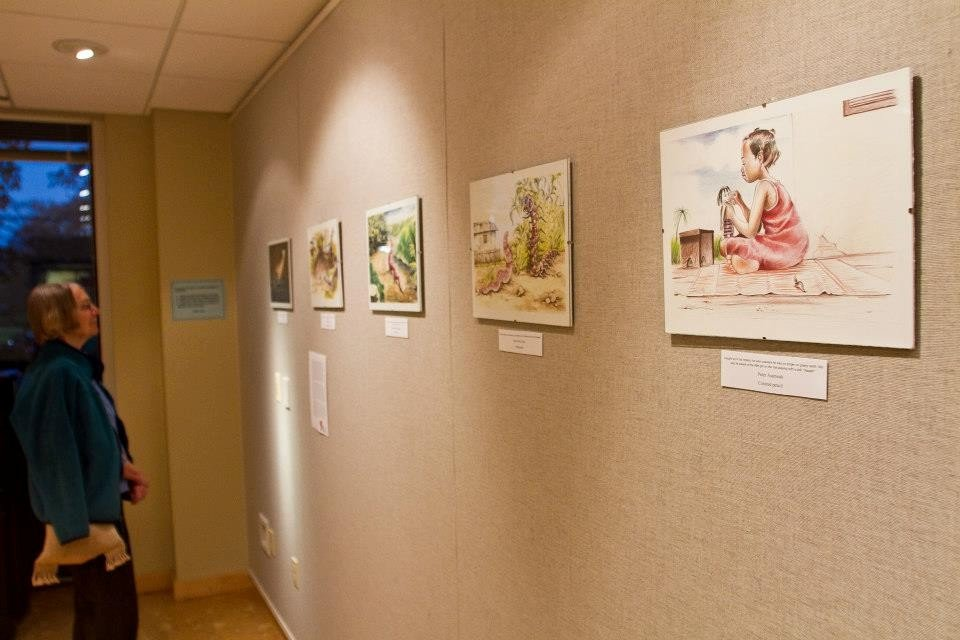 Exhibition at Haverford College