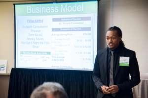 Akinbola R, the honoree of Youth Entrepreneurs GA