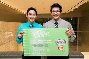 Joshua and Eddy, the Los Angeles winners