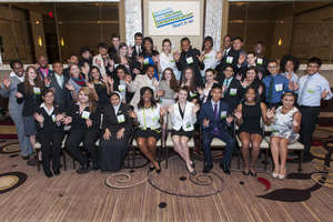 the student presenters for the 2014 NYEC