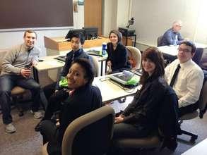 student receiving business plan coaching