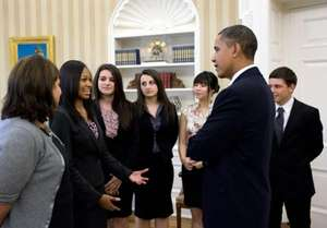 NFTE Challenge Winners Meet with President Obama