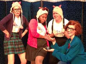 The cast performs 'The Fairy Tale Academy.'