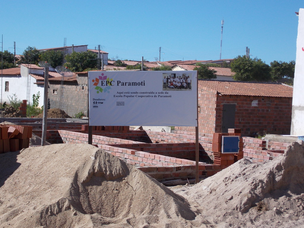 Construction under way