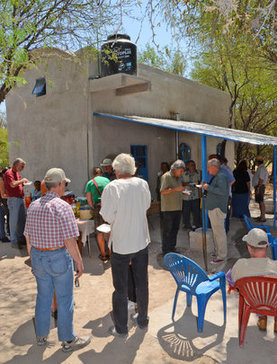 Volunters Celebrate Another Casita!