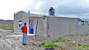 New home of Loria de Anda family