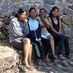 Family Members Observing a Site Planning Meeting
