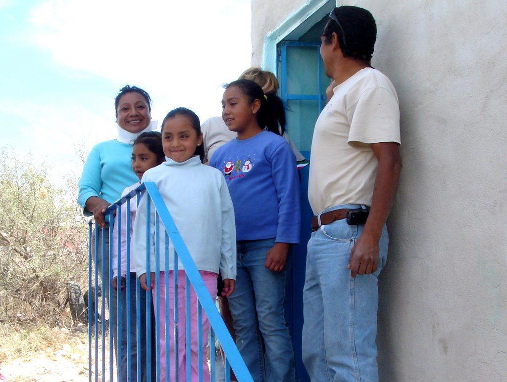 A Happy Family Moves in to Their New Casita Just in Time for Christmas