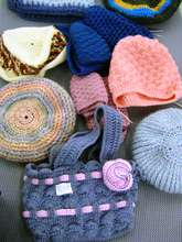 Hats and handbags - all handmade in Missionvale!