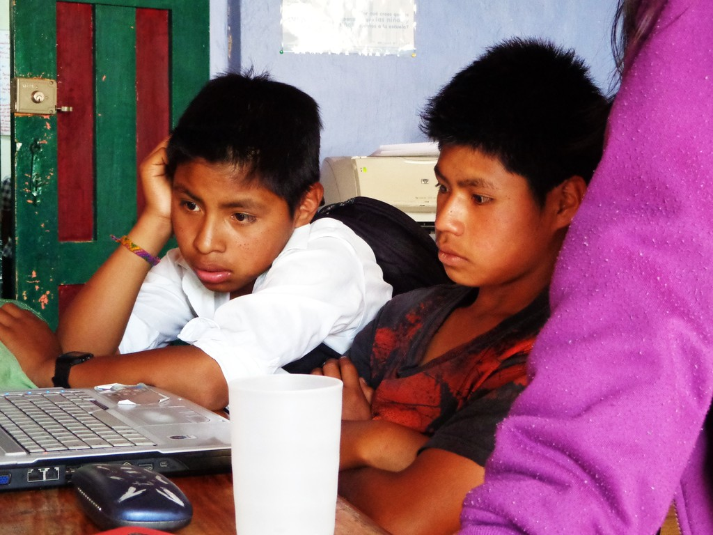 Learning ICTs, and how to use the Internet safely