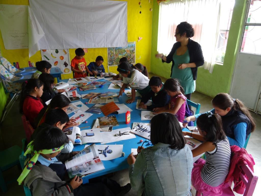 Learning activities at Melel Xojobal