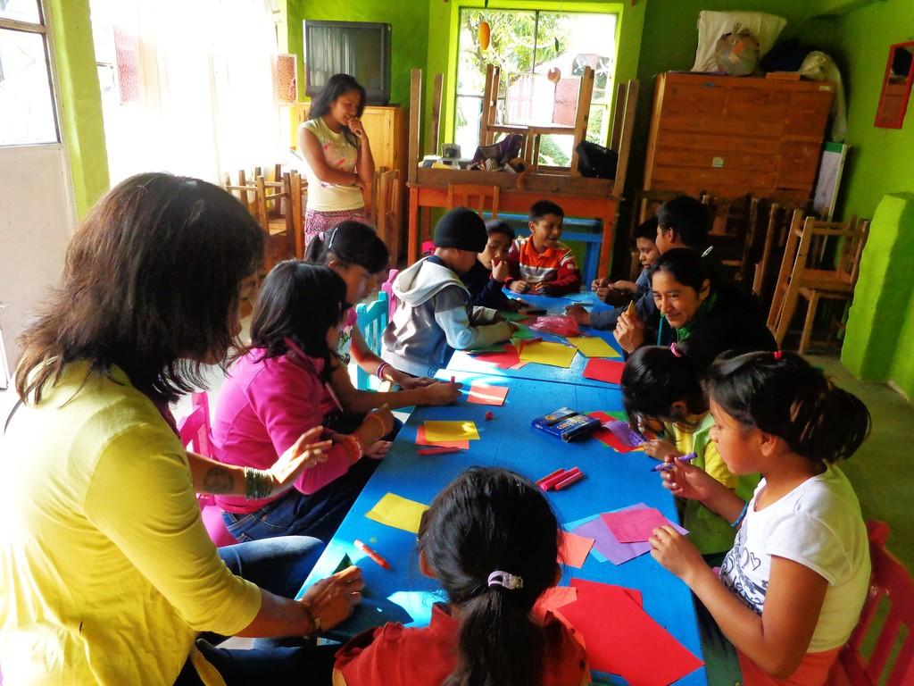 Learning circle activities at Melel